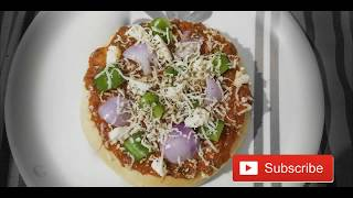 Instant Pan Pizza| Without Oven| Quick and Easy| Veg pizza