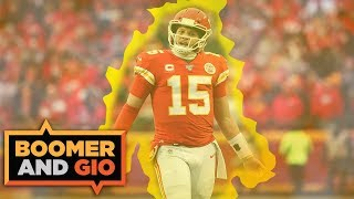 Patrick Mahomes orchestrates a HUGE COMEBACK! | Boomer and Gio