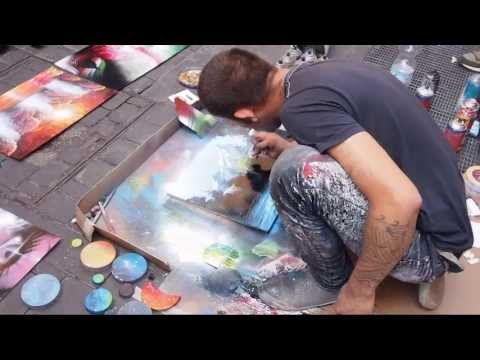 Spray color Artist (hd)