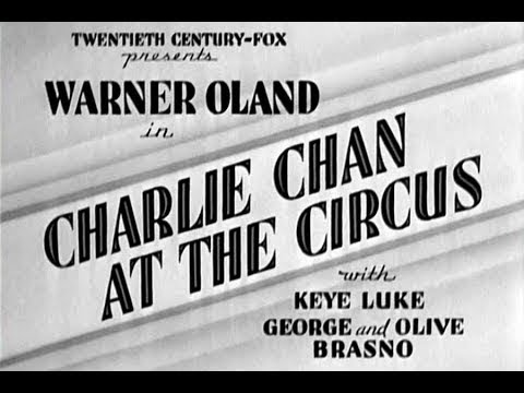 ★ Charlie Chan il Terrore del Circo ✘ Film Completo 1936 ✪ by ☠Hollywood Cinex™ con Warner Oland