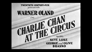 ★ Charlie Chan il Terrore del Circo ✘ Film Completo 1936 ✪ by ☠Hollywood Cinex™ con Warner Oland