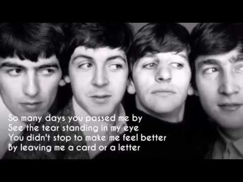 The Beatles - Mr Postman (lyrics)