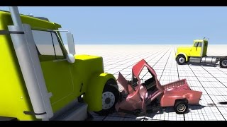 One-Sided Destruction Derby - BeamNG.drive