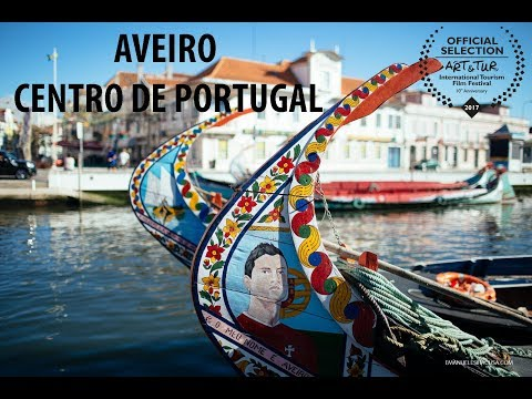 Aveiro in Centro de Portugal