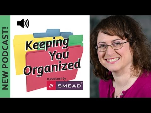 Secrets to Organizing a Small Business - Keeping You Organized Podcast 041