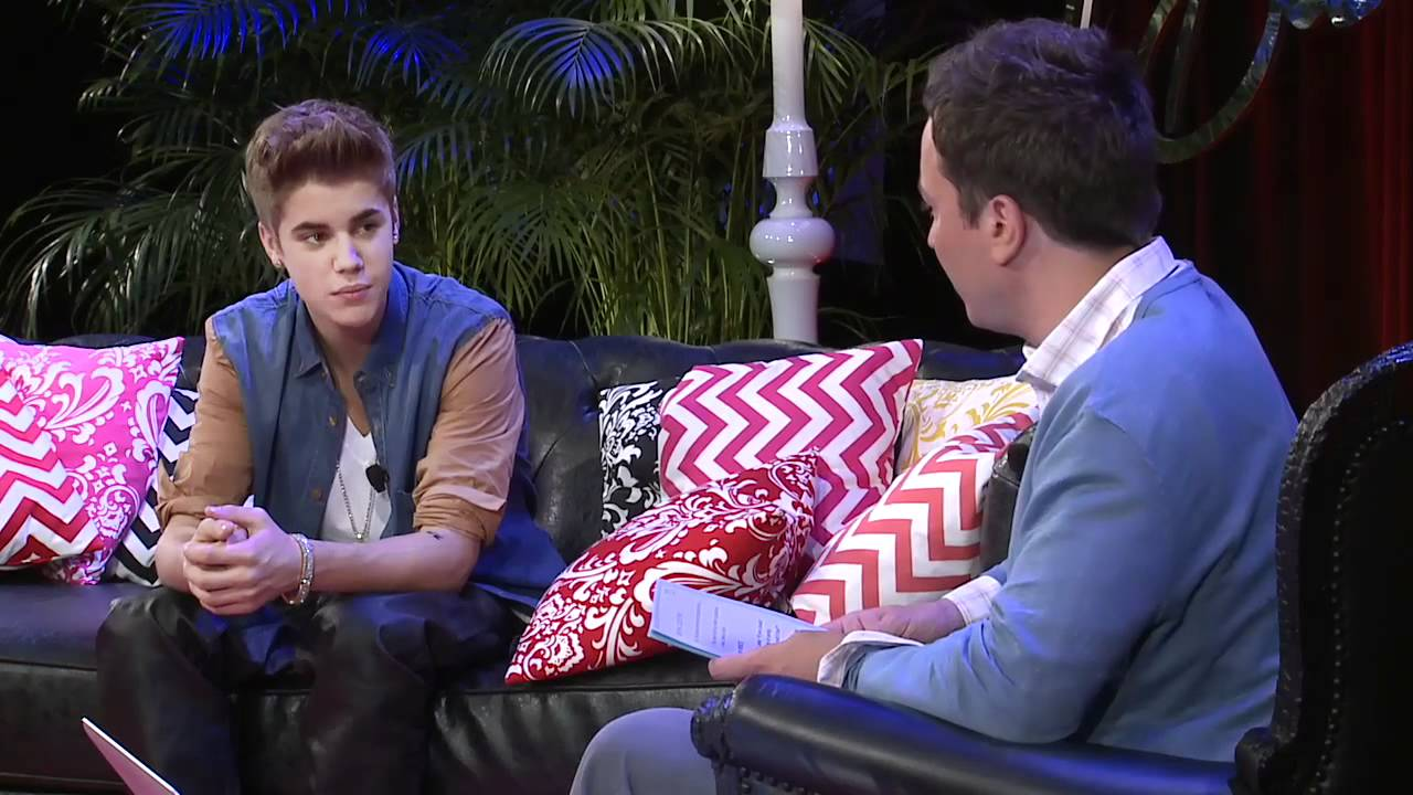 Justin Bieber's Youtube Interview with Jimmy Fallon - 21 June 2012 (HD) Full