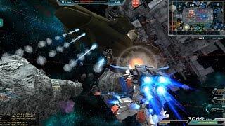 Gundam Online フルアーマーZZガンダムの連装ミサイルポッド(榴弾)でPTうまうま ガンダムオンライン