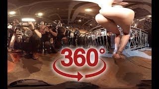 360 video VR Girl - 18yr dances for photographers ( Video for Oculus Go )