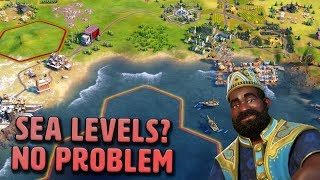 Who Cares About Sea Levels Anyway - Mali [#14] - Civilization VI Gathering Storm