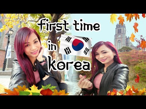 WHAT TO EXPECT on your FIRST TIME IN KOREA | Autumn 2017
