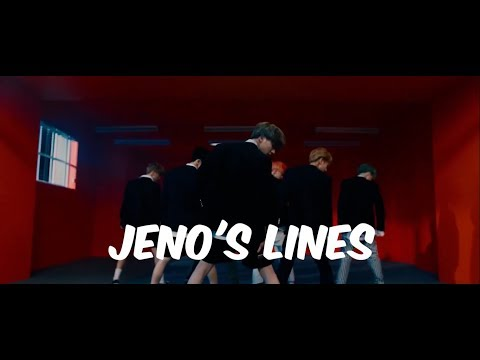 every nct dream mv but it's only jeno's lines (updated to We Go Up)
