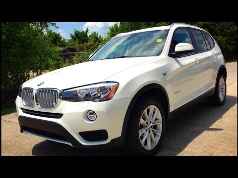 2015 Bmw X3 Sdrive28i Full Review Start Up Exhaust