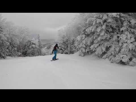 Mont Tremblant 2019 Snowboarding