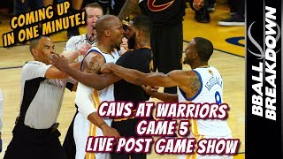 2017 NBA Finals Game 5 LIVE Post Game Show