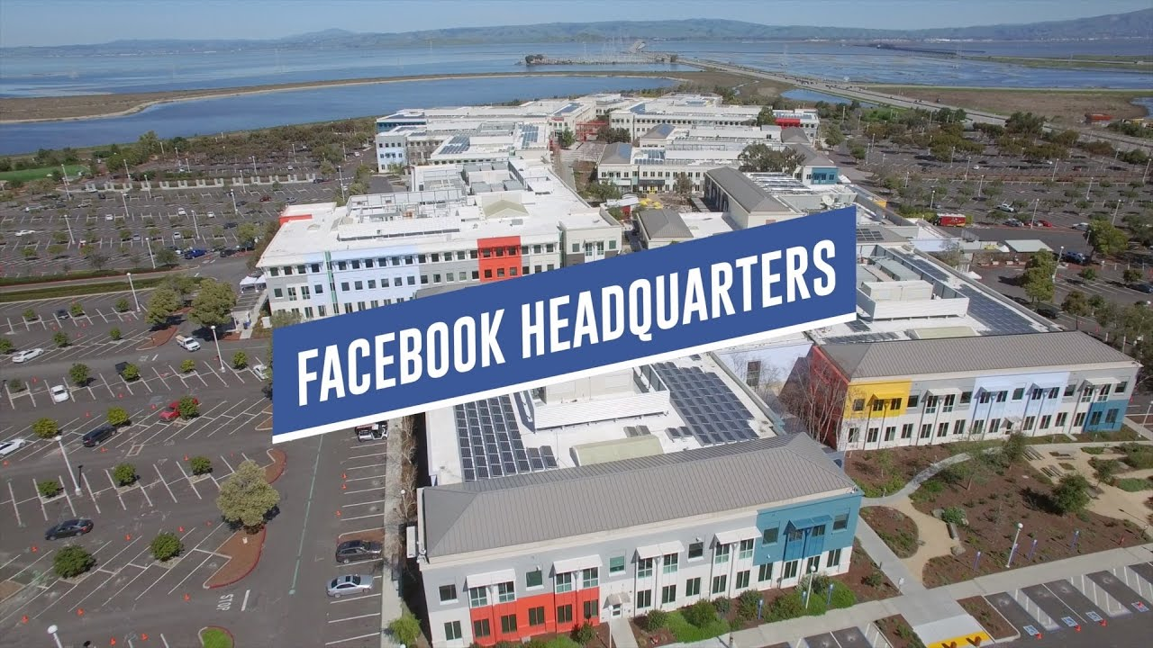 Old Facebook Headquarters Drone Tour 1 Hacker Way Youtube