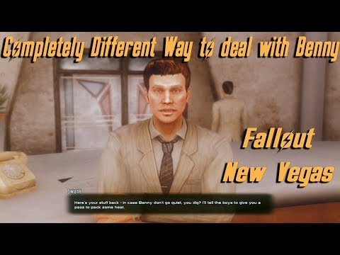 Completely Different way to deal with Benny - Fallout New Vegas