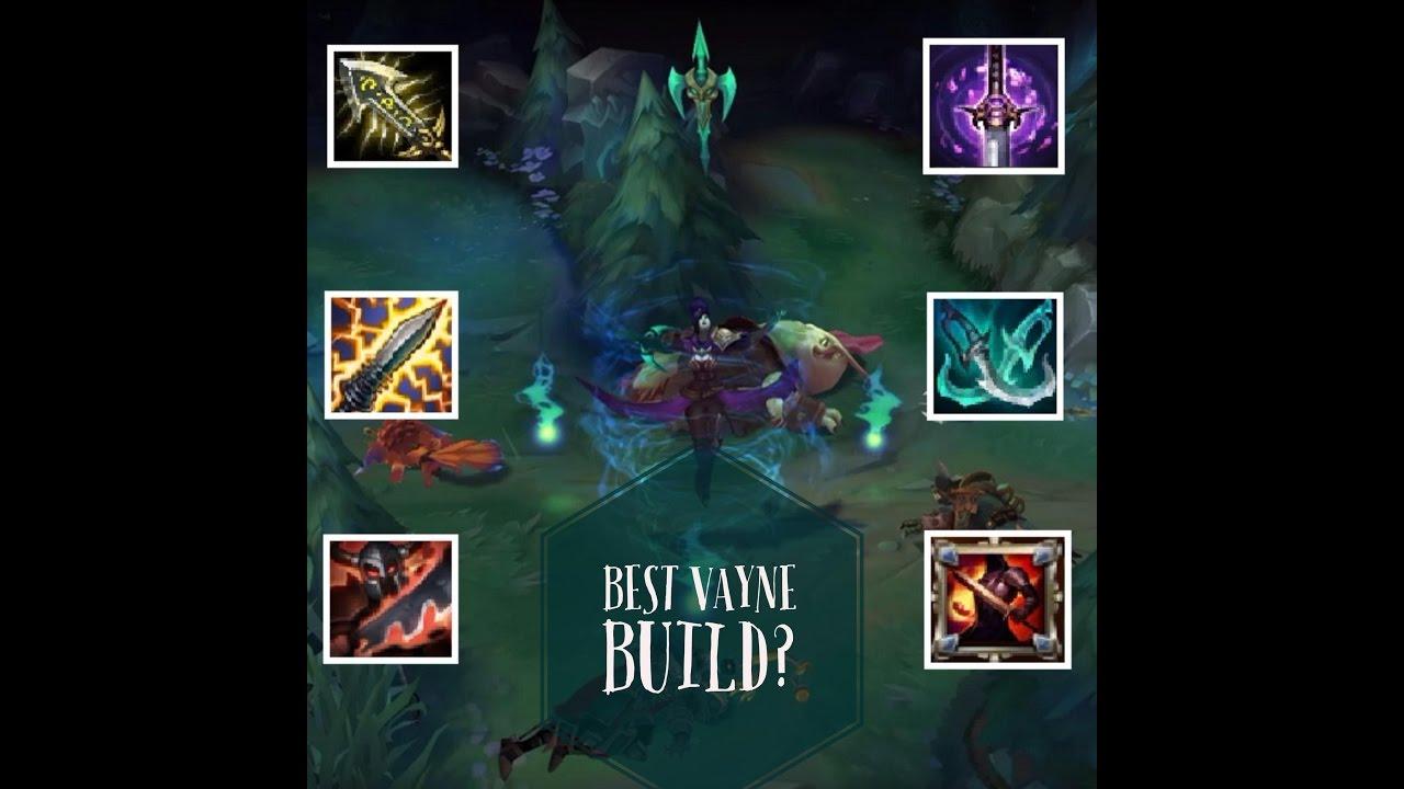 vayne vs vayne how to build to win