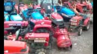 2010/6/8 USED JAPAN TRACTORS in Sunroutejapan Co.,ltd tottori yard