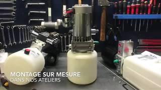 Montage d'une mini centrale hydraulique