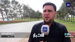 طريق الرمثا الطرة يزعج السكان - (14-3-2019)