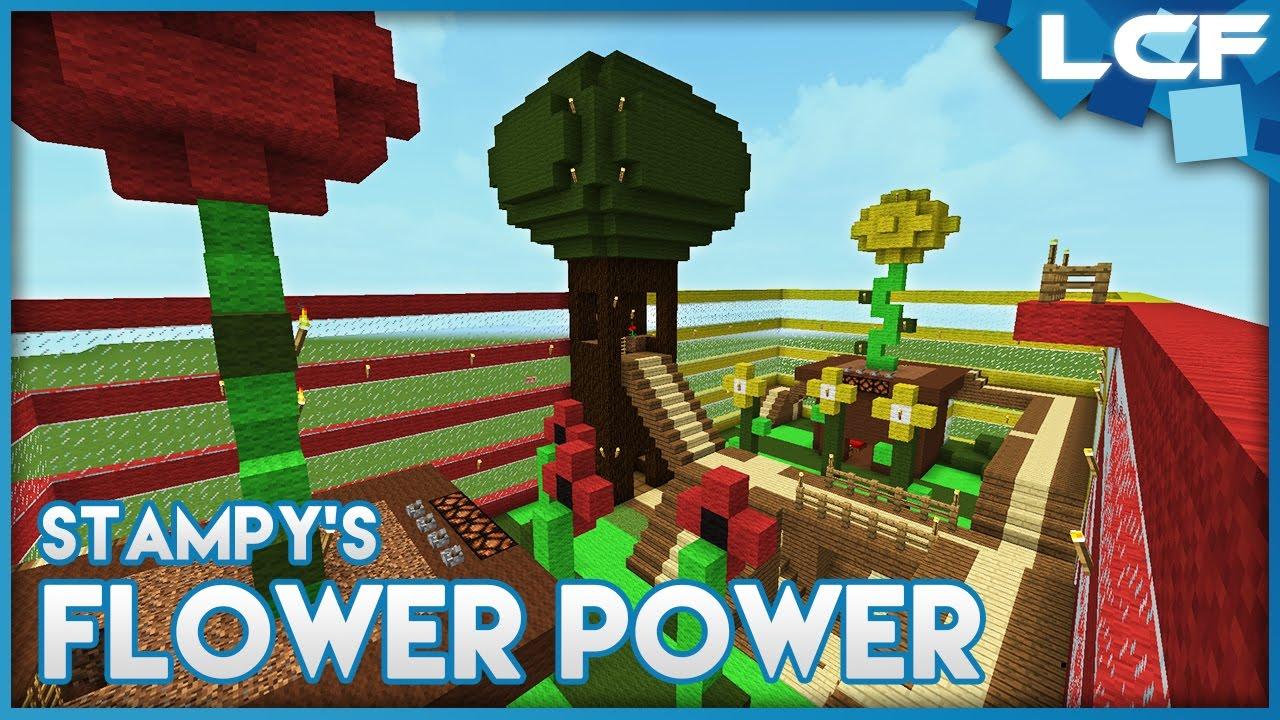 How to build Stampy's Flower Power Minigame! - Minecraft Tutorial ...
