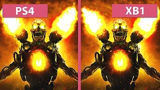 Video DOOM – PS4 vs. Xbox One Graphics Comparison download MP3, 3GP, MP4, WEBM, AVI, FLV Juni 2018