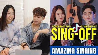 Download SING-OFF TIKTOK SONGS Part II REACTION (Reza Darmawangsa vs Mirriam Eka)