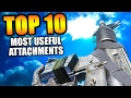 "Top 10 ""MOST USEFUL ATTACHMENTS"" in COD HISTORY (Top Ten) Call of Duty 