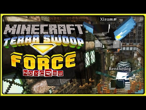 Terra Swoop Force | Minecraft Custom Adventure Map || Flight Of The Hermits!
