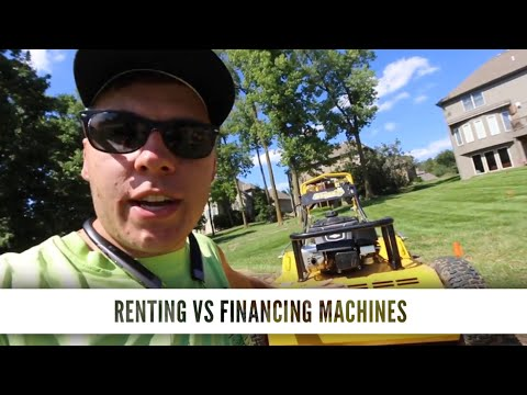 How To Make $2500 A Weekend With NO Money In Equipment, Renting VS Buying An Aerator