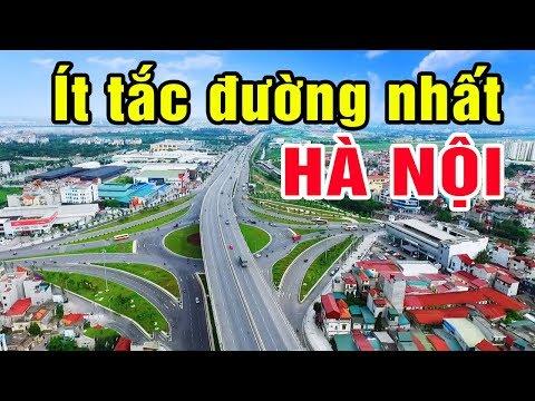 Quận ít tắc đường nhất Hà Nội là đây