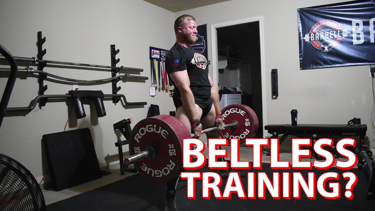 Should You Train Beltless?