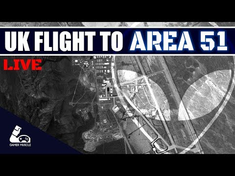 Flying to Area 51 in Xplane 11 - Live Training flight !