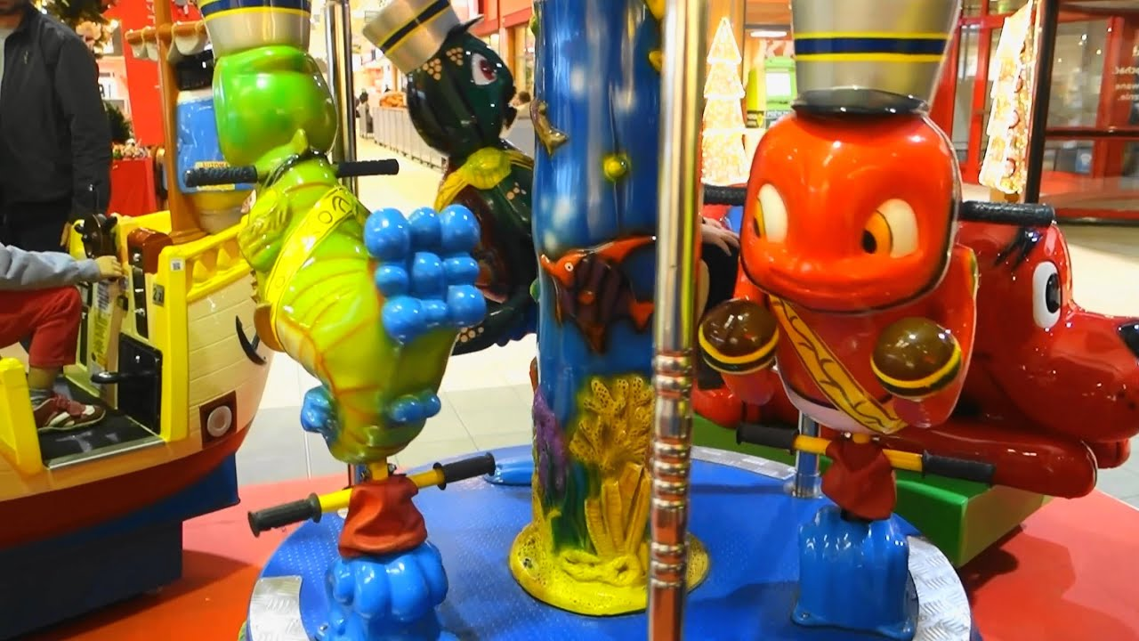 Play Centre Carousel For Children Playground Fun Play