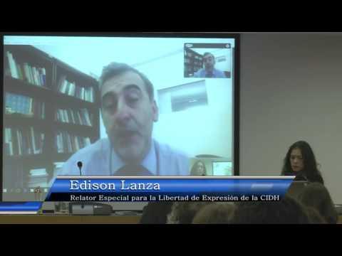 [VIDEO] Saludo Edison Lanza y PANEL 1: Seminario Internacional Colegio de Periodistas