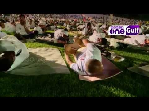 Friends of yoga conducts yoga camp in dubai - Emirates Eye (Epi2 Part3)