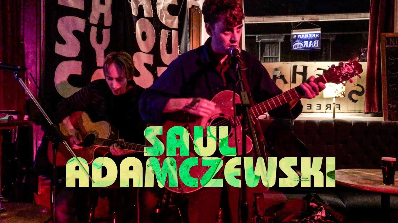 SAUL ADAMCZEWSKI/ INSECURE MEN Live at Easycome Acoustic feat Cosmo on  guitar