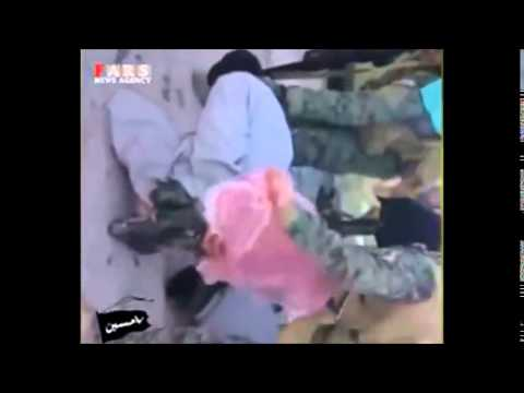 Iraqi Forces Capture ISIS Snipers in the Northern city of Baiji  بيجي