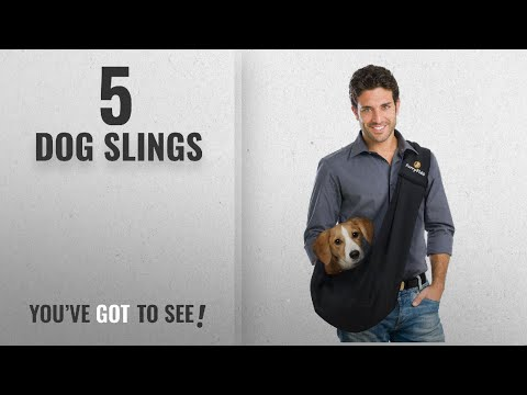 Top 10 Dog Slings [2018 Best Sellers]: FurryFido Reversible Pet Sling Carrier for Cats Dogs up to