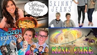 This Week On Psgg: Ingrid Nilsen's California Chicken Salad, Top That! Frozen Edition And More!
