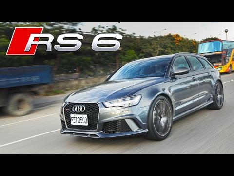好爸爸也使壞!Audi RS6 Avant Performance