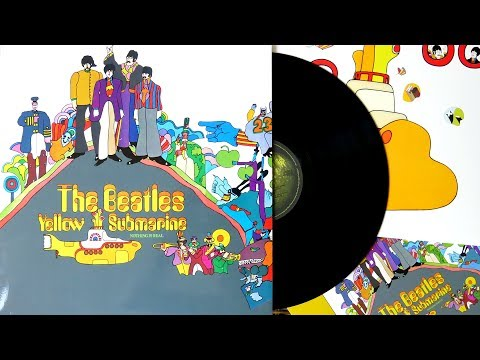 The Beatles - Yellow Submarine - The Beatles Vinyl Collection Unboxing