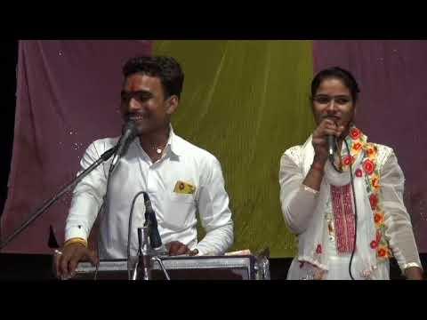 Umesh kushwaha and Rajni Bharti  kharka lokgeet 06 07 2018 13