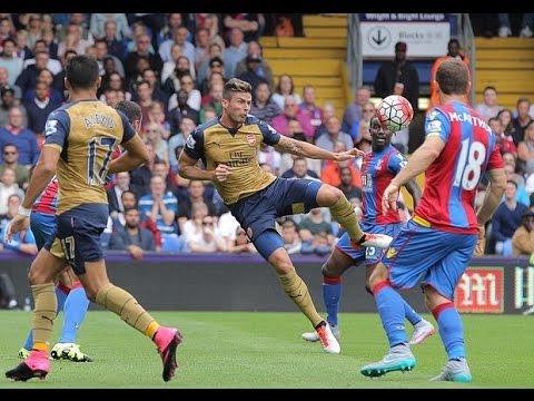 Crystal Palace 1 - 2 Arsenal 2015/16 | PalaceFanTV