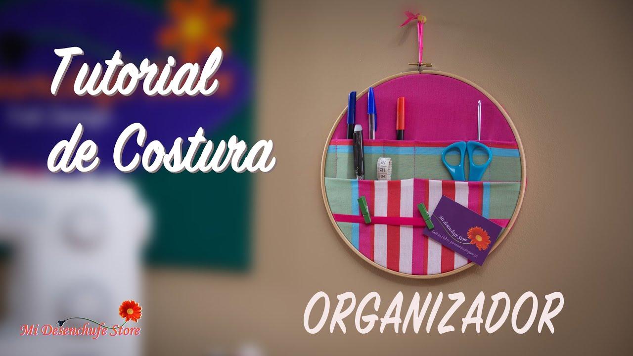 Tutorial #42 - Como hacer un Organizador (con Bastidor) - YouTube