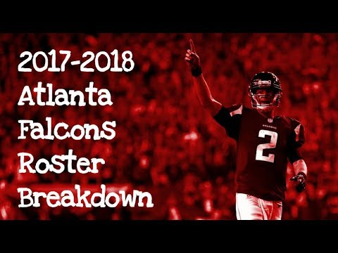 2017-2018 Atlanta Falcons Roster Breakdown: Madden 18 Rosters