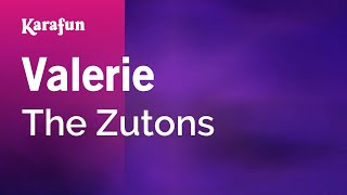 Karaoke Valerie - The Zutons *