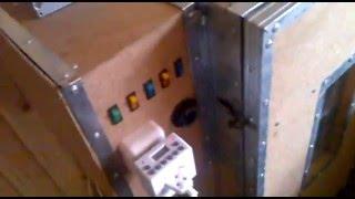 видео Самодельный Инкубатор своими руками с переворотом