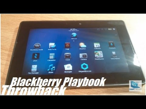 "Retro Review: Blackberry Playbook 7"" Tablet [2017]"