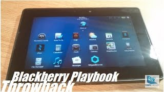 """Retro Review: Blackberry Playbook 7"""" Tablet [2017]"""